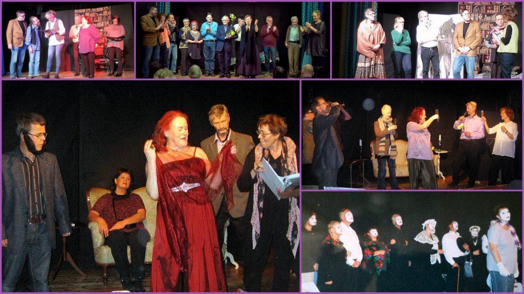"""Bilder ur """"En teaterkomedi"""" och """"Panik i Rölleby"""""""
